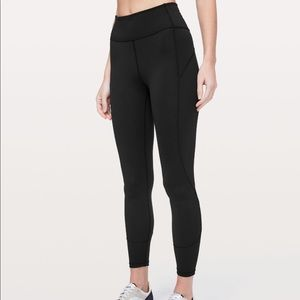 "Lululemon In Movement tight 25"" Everlux size 8"